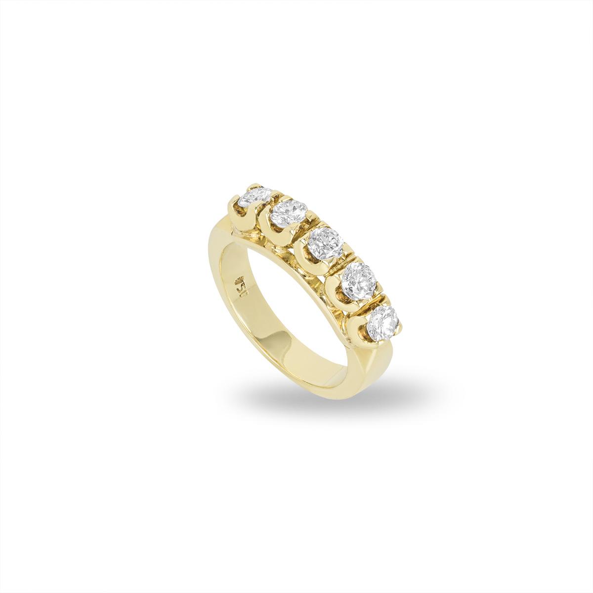Yellow Gold Diamond Ring 1.00ct